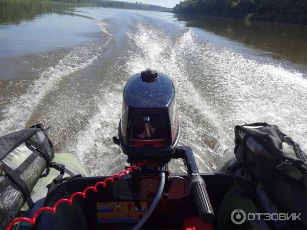 скорость глиссирования лодки пвх