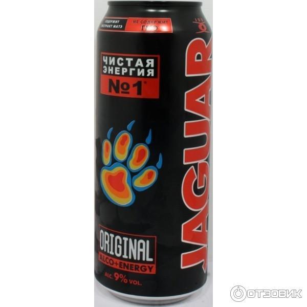 Отзыв о Алкогольный коктейль Jaguar | не вреднее другого ...
