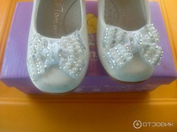 Отзыв о Туфли нарядные Том.м для девочек | Удобная очень обувь для