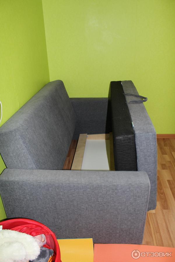 Отзыв о диван-кровать ikea бигдео хороший диван, но не очень.