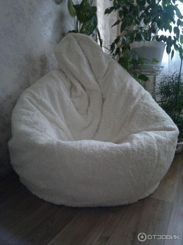 отзыв о кресло мешок Ikea опасайтесь оно манит всех придется