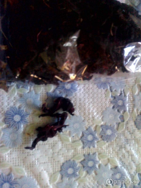 Гранатовый чай из цветков граната