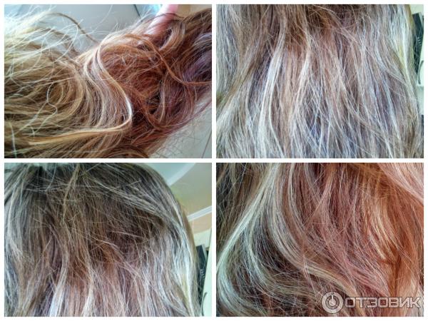 Маски для волос тонирующие