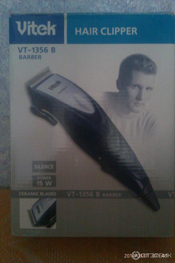 Машинка для стрижки волос витек с керамическим