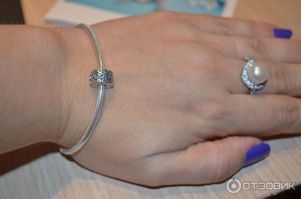 отзыв о серебряный браслет Pandora как отличить копию от оригинала