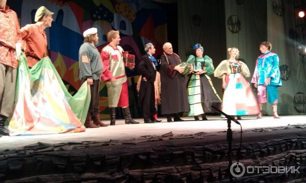 Сказки ученого кота театр армена джигарханяна отзывы о
