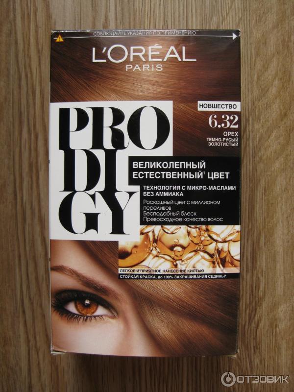 Краска для волос prodigy отзывы