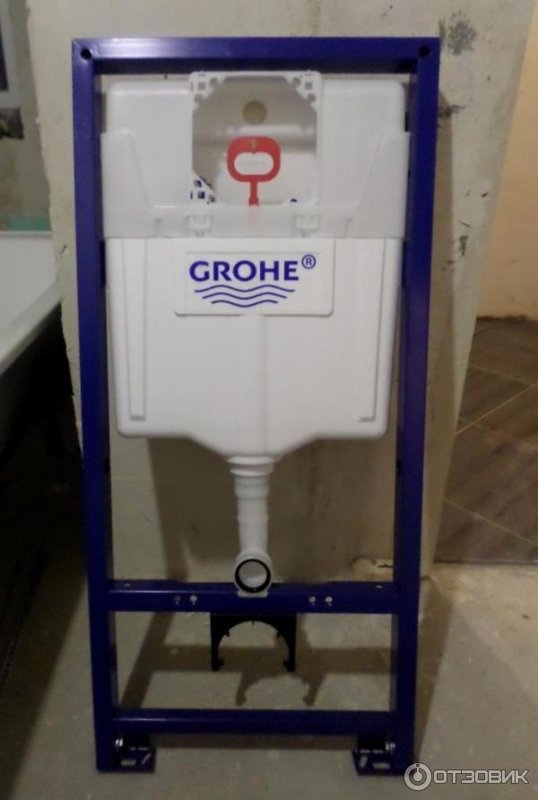 Инсталляция GROHE