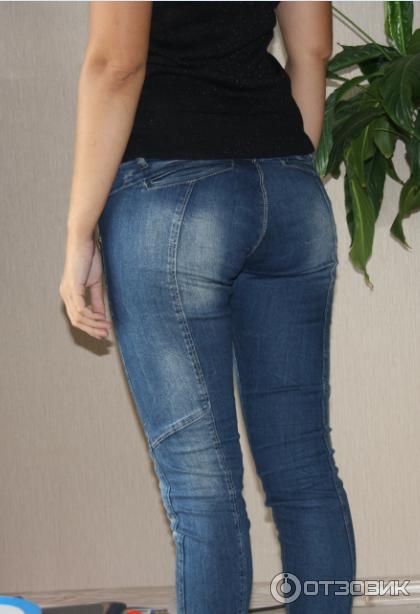 Шикарная попа джинсы фото 190-341