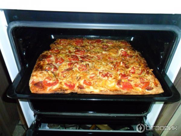 Пицца в духовке рецепт с готовым тестом в духовке пошаговый рецепт с