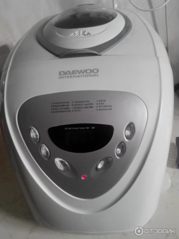 Хлебопечка daewoo di 3200s инструкция