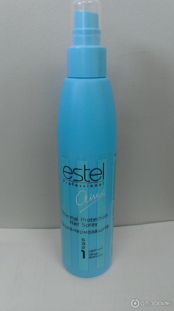 Термозащита для волос спрей эстель отзывы