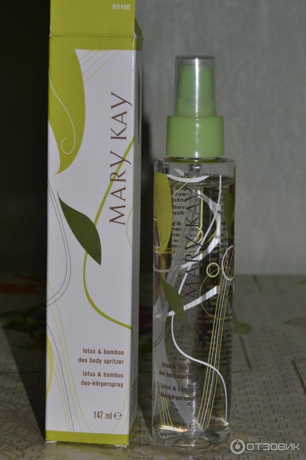 Mary kay спрей для тела лотос и бамбук