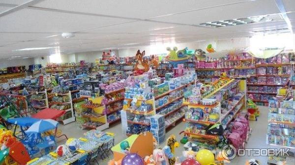 Большой магазин детских игрушек