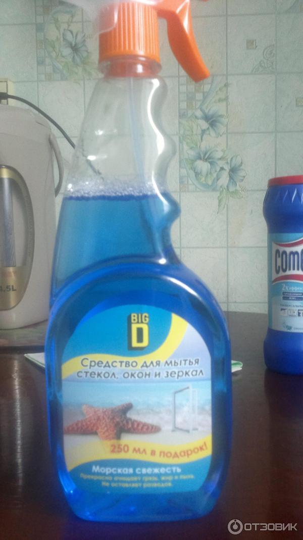 Лучшее средство для мытья зеркал без разводов
