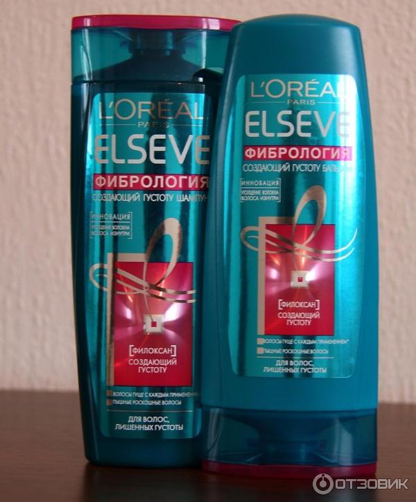 шампунь для волос elseve фибрология для создания густоты волос
