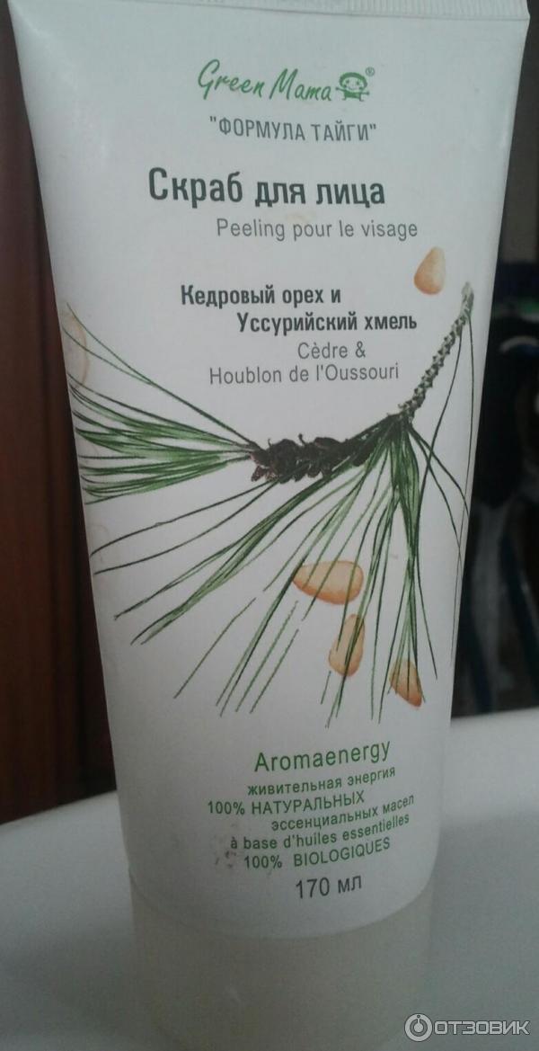 🏪 купить green mama скраб для лица кедровый орех и уссурийский хмель, мл, можно на сайте и в наших аптеках.