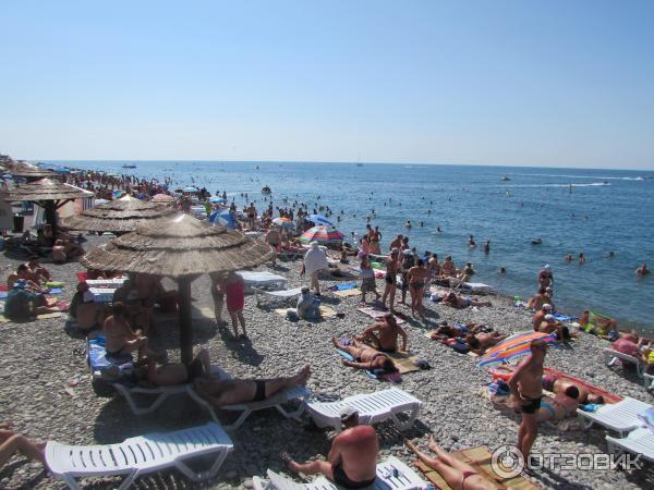 пляж в рыбацком поселке лазаревское фото