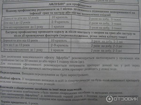 инструкция Aflazin - фото 7