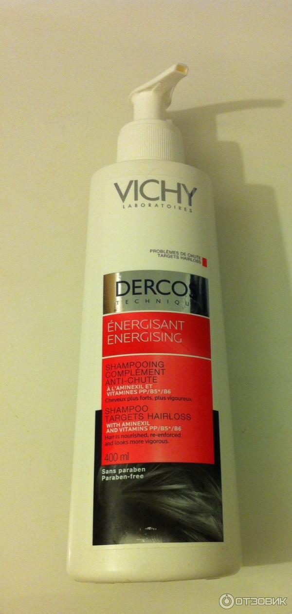 Шампунь от выпадения волос vichy отзывы