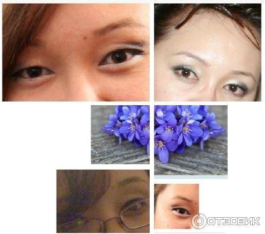 как убрать нависшие веки макияж