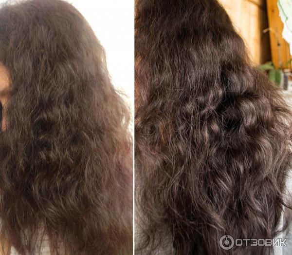 Волосы пушистые сухие