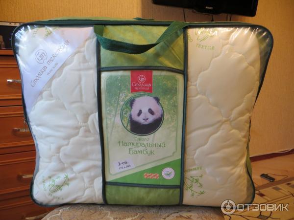 Столица текстиля одеяло бамбук
