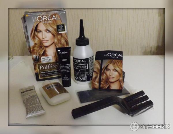 Краска для волос в домашних условиях