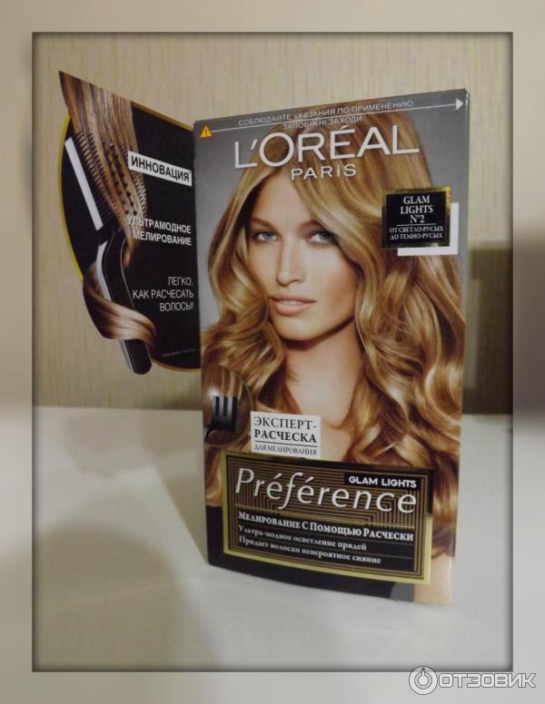 Лореаль краска для волос мелирование
