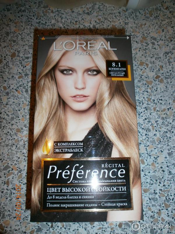 "Блондинка? Красим волосы дома. Краска l`oreal 8. 1 ""копенгаген."