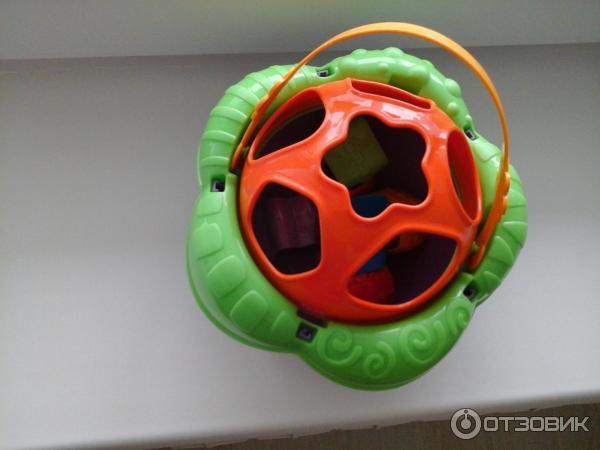 Логическая игрушка-сортер Нордпласт Цветочек фото