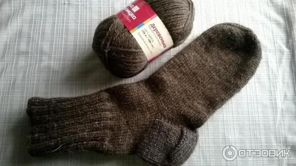 Вязание носков пряжа 16