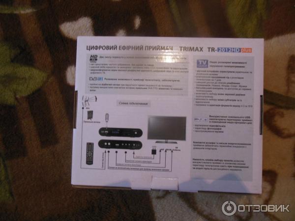 Цифровой тюнер Т2 Trimax