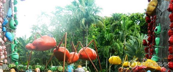 Тропический парк нонг нуч таиланд