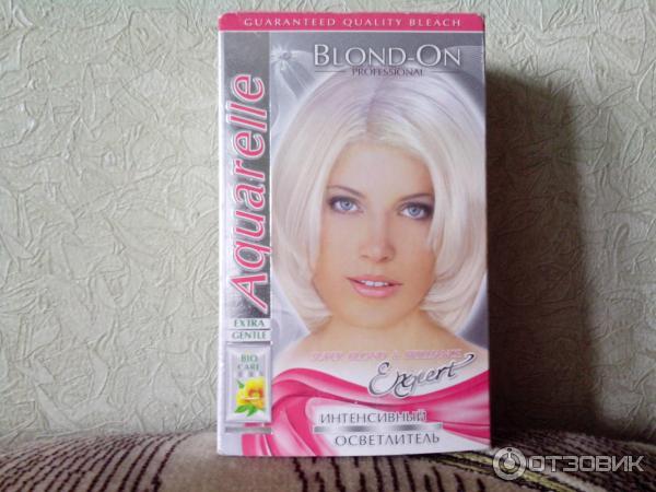 Акварель краска для волос