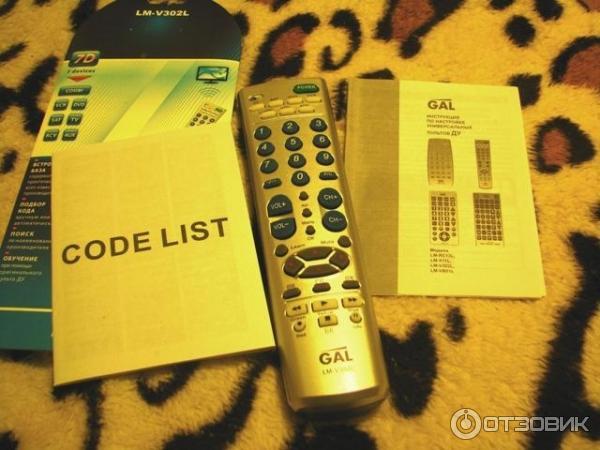 Универсальный Пульт Для Телевизора Gal Lm-v302l Инструкция - фото 11