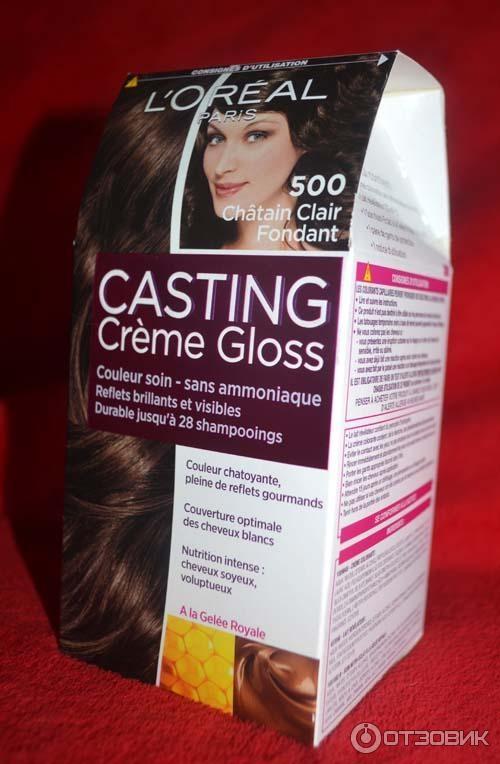 Лореаль кастинг 500 на волосах