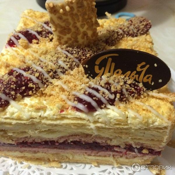 рецепт торт от палыча малиновый