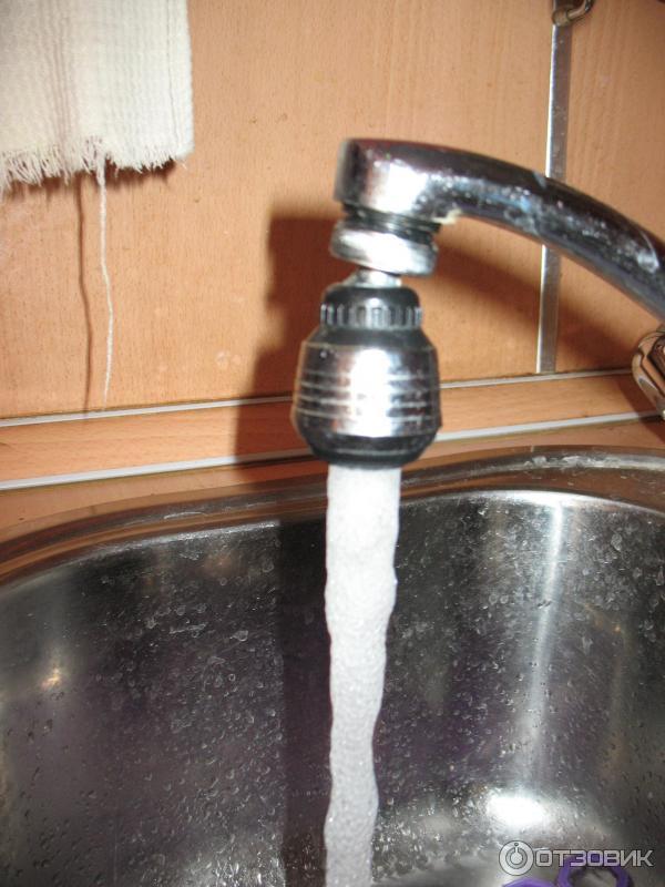 Насадка аэратор на кран для экономии воды своими руками 38