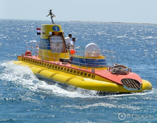 экскурсии на подводной лодке в море