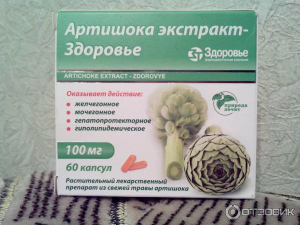 лекарственные препараты из артишока от чего страницу пользователя