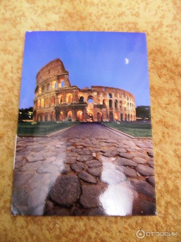 Сколько идет открытка из ватикана в россию 100