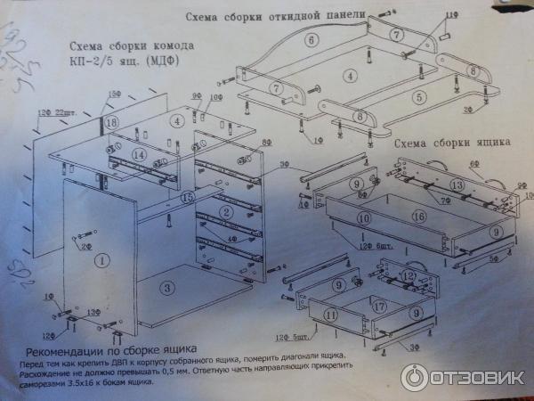 Инструкция По Сборке Пеленального Комода Картинки - фото 11