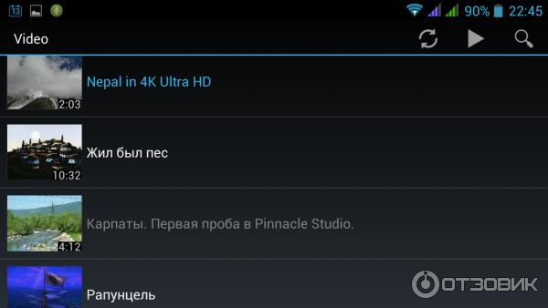 Отзыв о Видеоплеер MX Video Player - программа для Android