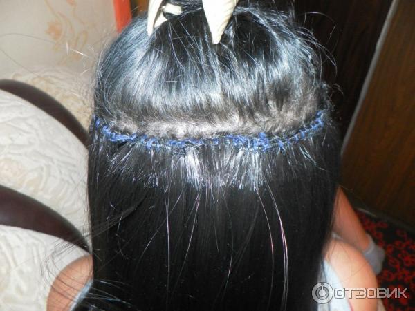 Волосы на заколках-отзывы