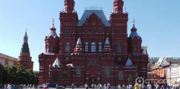 Автобусная экскурсия по москве от красной площади