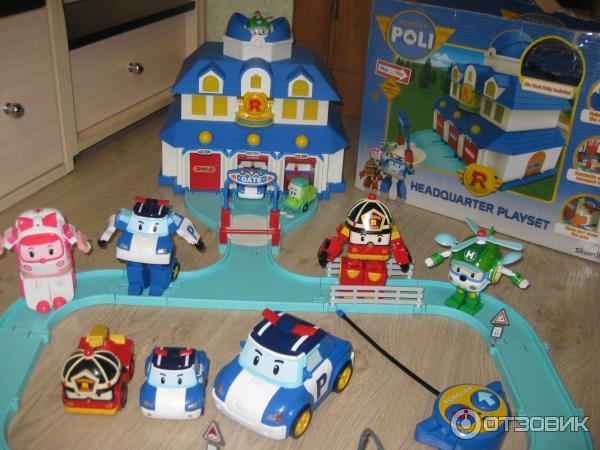 Робокар поли дорога игрушка