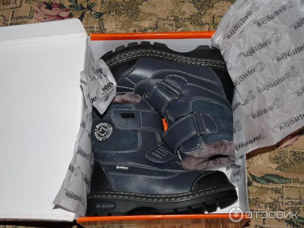 f657df274 Отзыв о Зимние детские ботинки для мальчика Антилопа   Качественная ...