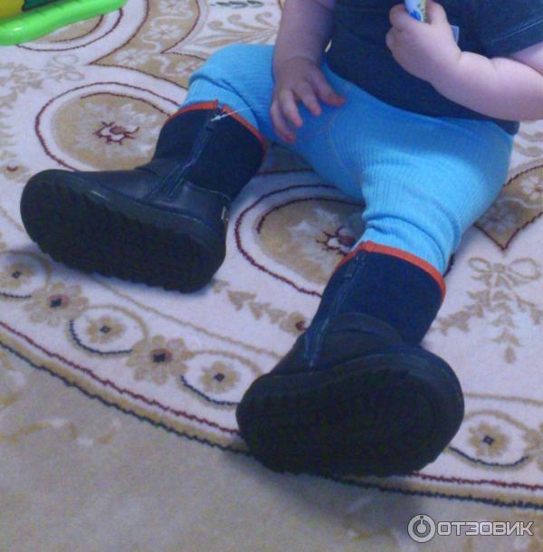 Отзыв: Детские угги Капитошка - Теплая обувь, качественно сшиты