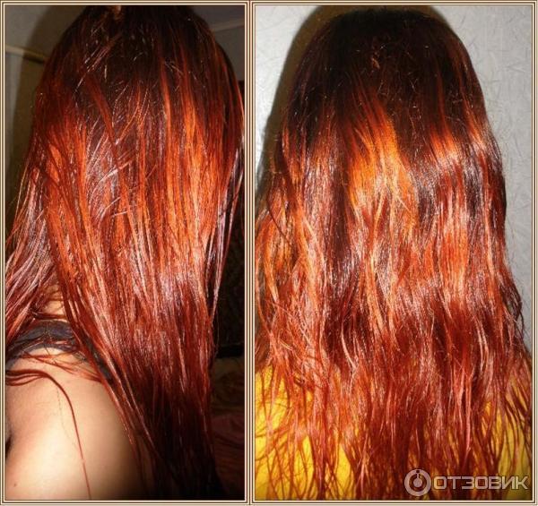 как сохранить рыжий цвет окрашенных волос